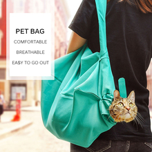 Дышащая переносная сумка для кошек, сумка для домашних животных, дорожная сумка для кошек, сумка для переноски кошек, черная/зеленая