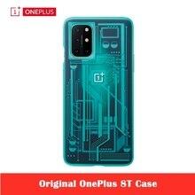 Original oneplus 8 t caso capa protetora do telefone tecnologia luz atual pára choques envolto caso cabido para oneplus 8 t 8 t