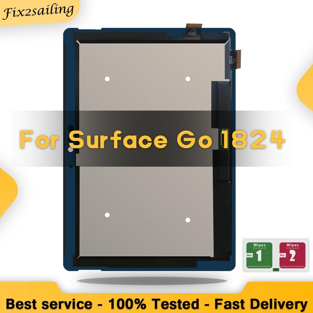 Tableta LCD de 10 pulgadas para Microsoft surface Go 1824, pantalla táctil de cristal, sensor, montaje de tableta digitalizadora