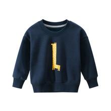 Boy Kids Polo Shirt Girl Long-Sleeve Sweatshirt Winter Autumn Pullover Fleece Streetwear