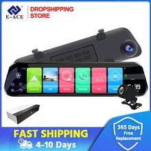 Dropshipping. Exclusivo. 12 pulgadas Android 4G Cámara Android GPS vídeo, navegación con Bluetooth WiFi ADAS grabadora de coche