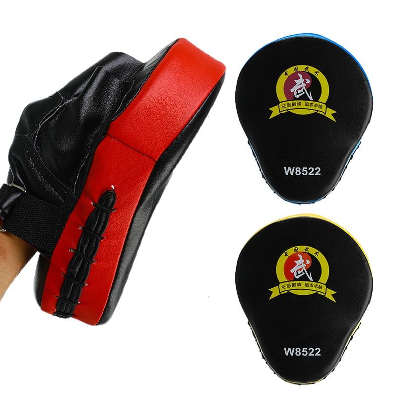 1pcs Hand Target MMA Thai Kick Pad Kit Karate Training Mitt  Professional Boxing Gloves Pads Sparring Boxing Bags For Men Women