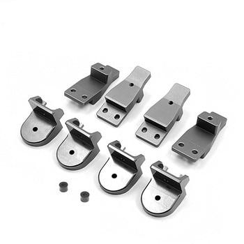 Metal Riser Set 11mm Riser Kit for 1/6 CAPO Sixer 1 Samurai Jimny RC Car Parts Accessories