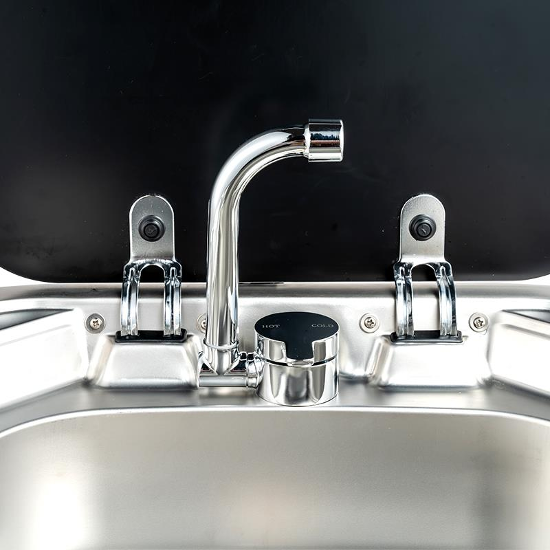 Rv acessórios quente/frio/rotativo torneira para cozinha casa de banho caravana campista