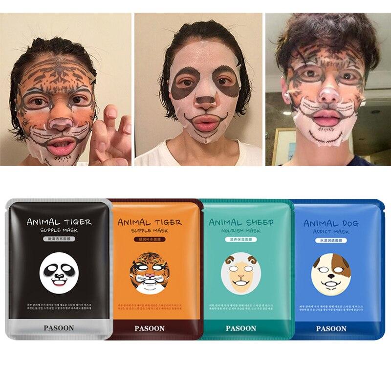Bioaqua 1pcs Skin Care Sheep Panda Dog Tiger Facial Mask Moisturizing Cute Animal Face Masks Face Skin Moisturizing Lift Tslm2 Buy At The Price Of 1 29 In Aliexpress Com Imall Com