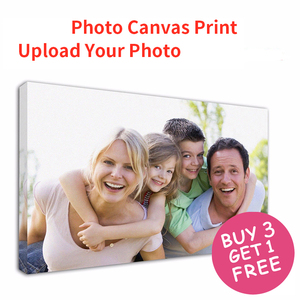 Customized Photo Prints Painting Canvas Your Photo Turn Into On Canvas - Customized As Gallery Artwork Wrap For Wall Print Decor