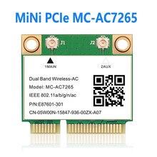 Половина Mini PCI-E Wi-Fi кард-MC-AC7265 MPE-AX3000 для Intel AX200 Беспроводной Bluetooth 802.11ac 2,4 г Wi-Fi 5 ГГц для ноутбука 7260HMW