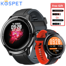 """KOSPET sonde montre intelligente 1.3 """"plein écran tactile IP68 étanche natation Sport Smartwatch fréquence cardiaque sang oxygène moniteur montre"""