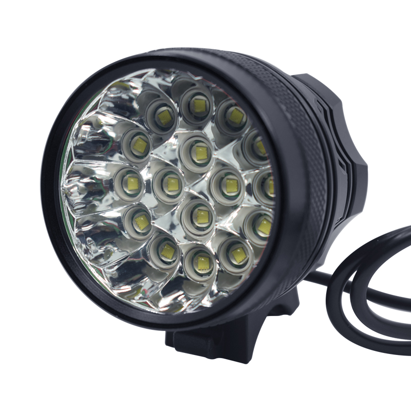 Super Bright 40000lm Bike Light 16 * XML-T6 LED lamp 3 Modes Bicycle front Light Headlight Bike Accessories Outdoor Cycling lamp