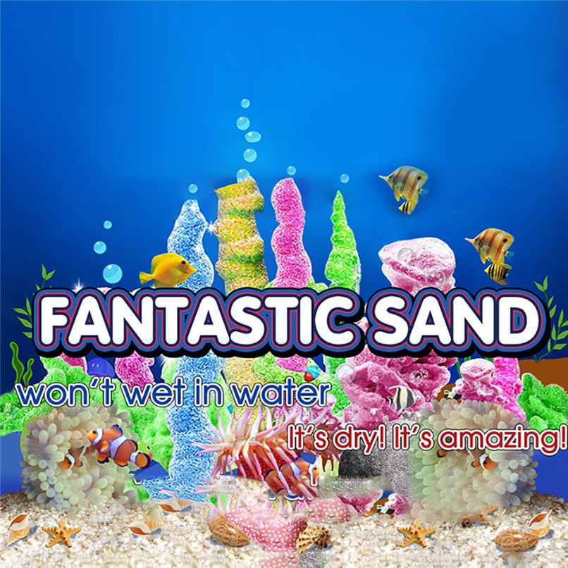 Magic Sand Space Sand Hydrophobic Sand Play Toys Any Child Favor Birthday Gift Any Child Favor Holiday Funny Toy 40D05