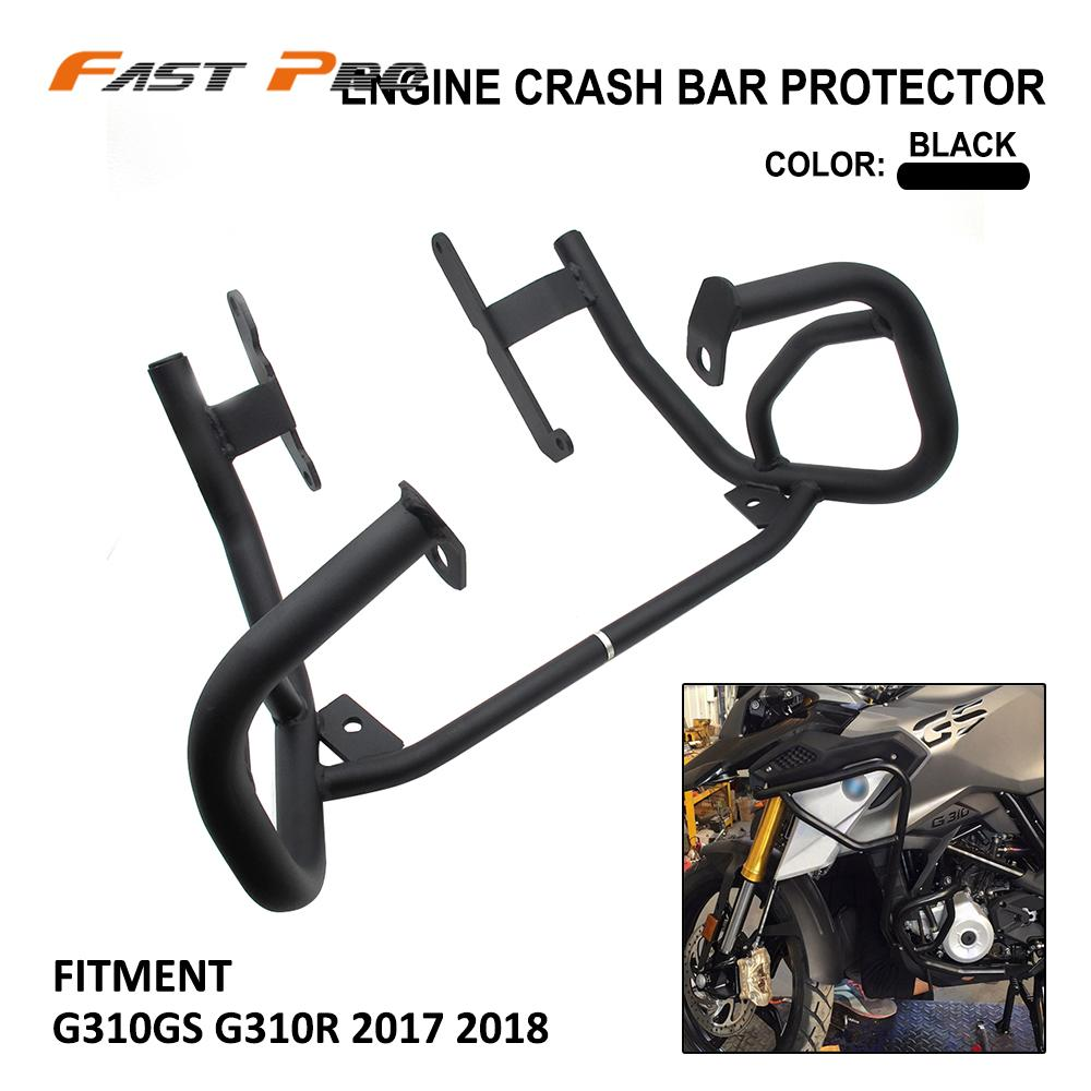 Motorcycle Lower Engine Guard Bumper Crash Bar Fuel Tank Protector For BMW G310GS G310R <font><b>G</b></font> 310GS <font><b>310R</b></font> 310 GS R 2017-2018 image
