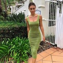 Женское платье соблазнительные облегающие однотонные платья