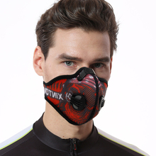 Anti Dust Bicycle Face Mask With Filter Activated Carbon Men Women Running Cycling Anti-Pollution Bike
