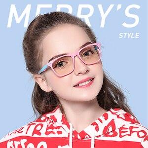 Image 5 - MERRYS Gafas de bloqueo para niños y niñas, diseño antiluz azul, gafas para juegos de ordenador, gafas de rayos azules S7103