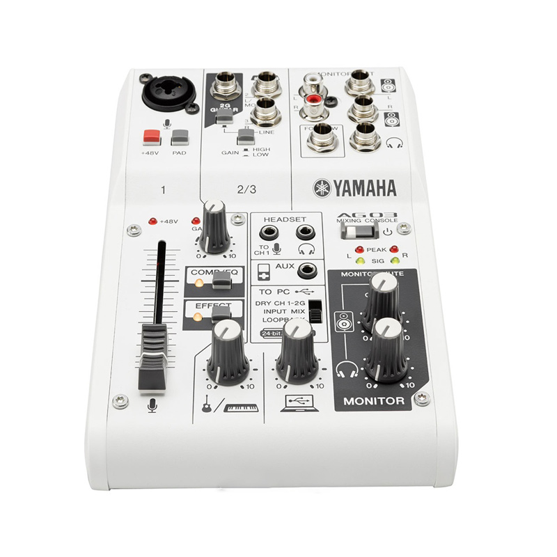 Make For Yamaha AG03 Network Live K Song With Sound Card Sound Console