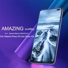 Dla Xiaomi Poco X3 NFC szkło hartowane NILLKIN niesamowite H + Pro odporne szkło hartowane 2.5D dla Xiaomi Poco X3/x2