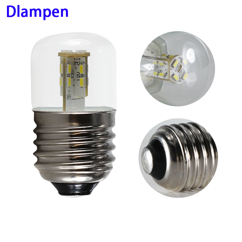 2pcs Ampoule Led E27 B22 12v 24v Mini 2W Corn Bulb Light Smd 3014 Chip Energy Saving Lamp 360 Degree 12 24 V Volt Home Lighting