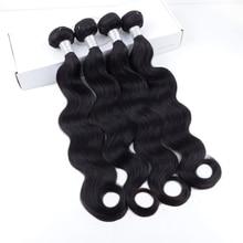 VAST Hair Body Wave Bundles Wholesale 100% Remy Human Hair Extension Natural Color