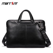 Real leather single shoulder slant bag male horizontal men's business handbag first layer cowhide computer briefcase p kuone first layer cowhide male bag business men handbag cross section shoulder bags genuine leather briefcase laptop bag