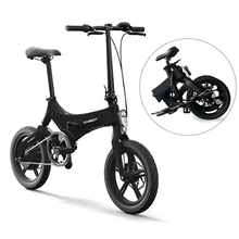 onebot S6 16 Inch Folding Electric Bicycle Power Assist Moped Electric Bike E-Bike 36V 6.4Ah 250W Motor and Dual Disc Brakes