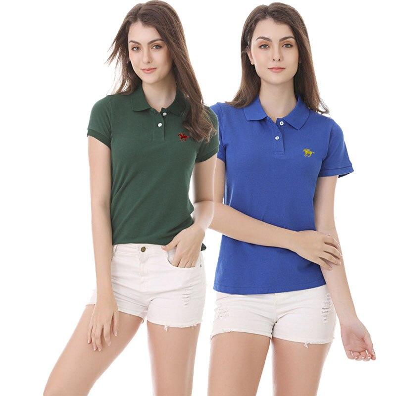 Femme Rouleau Polo Col À Manches Courtes T-Shirt Extensible Slim Casual Basic Plain Tops