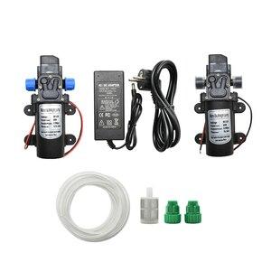 Мембранный Водяной насос постоянного тока, 12 В, 60 Вт, автоматический выключатель, 5 л/мин, водяной насос высокого давления для мойки автомоби...