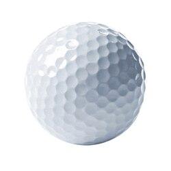 Открытый спортивный мяч для игры в гольф для соревнований, резиновый двухслойный высококачественный мяч для гольфа, белый, хит