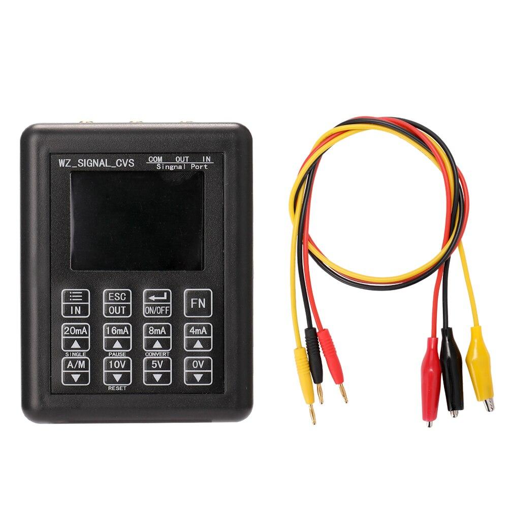 Charge de générateur de fonction de simulateur analogique de tension de courant réglable de Sources de générateur de Signal de haute précision avec le micro USB