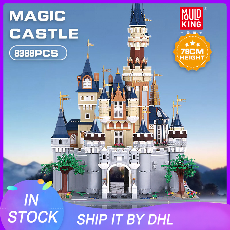 Building Blocks 16008 Girl Friends The MOC <font><b>13132</b></font> Princess Disneys Castle Model Bricks Kids Toys Lepinbrick Gifts image