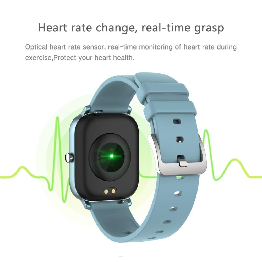 COLMI P8 1.4 inch Smart Watch Men Full Touch Fitness Tracker Blood Pressure Smart Clock Women GTS Smartwatch for Xiaomi 4
