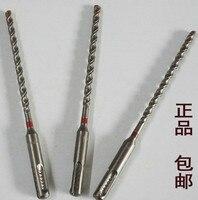 Hilti TE-C séries 6*170mm/8*170mm/10*170mm dois pit dois entalhe broca elétrica do carboneto de tungstênio da broca do martelo do entalhe (3/1 grupo)