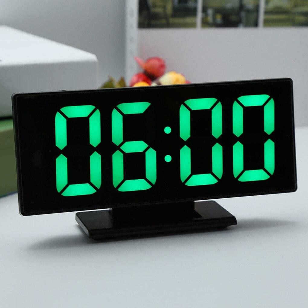 Reloj despertador Digital Reloj con espejo y luz LED multifunción posponer y visualización de hora noche LCD mesa de luz Cable USB de escritorio NAVIFORCE, relojes de cuarzo de lujo para hombres, relojes para mujeres de acero a prueba de agua, reloj informal para parejas, reloj de pulsera Masculino, reloj Masculino