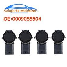 4 ชิ้น/ล็อต 0009055504 A0009055504 สำหรับMเมอร์เซใหม่PDCเซ็นเซอร์ที่จอดรถกันชนย้อนกลับAssistรถอุปกรณ์เสริม