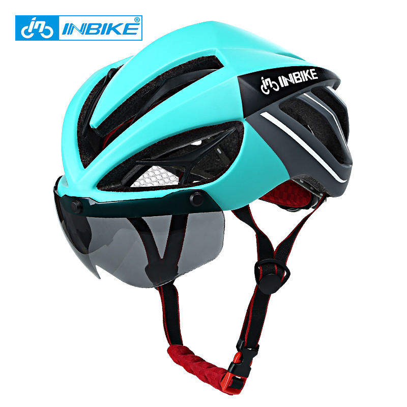 INBIKE велосипедный шлем Магнитные очки горные шоссейные велосипедные шлемы солнцезащитные очки велосипедные очки 3 линзы велосипедный шлем|road bike helmet|bicycle helmetcycling helmet | АлиЭкспресс