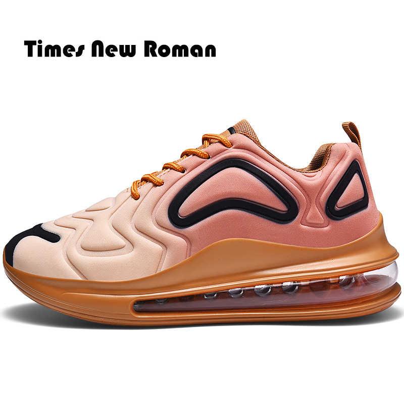 Times New Roman Mode Dicken Boden Unisex Turnschuhe Trend Im Freien Männer Schuhe Licht Atmungs Casual Schuhe Plus Größe 36 ~ 47