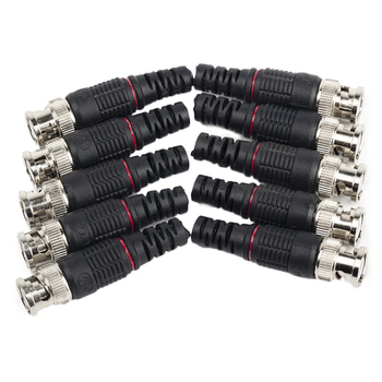 10pcs JR-B35 cctv connector BNC adaptor ,50ohms 75ohms BNC connector vanguard adaptor 45
