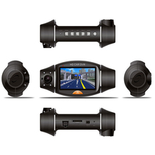 Car Camera Recorder Dash Cam HD 1080P Dual Lens Screen 140 Wide Angle Built-in GPS Recorder DVR Camera Video