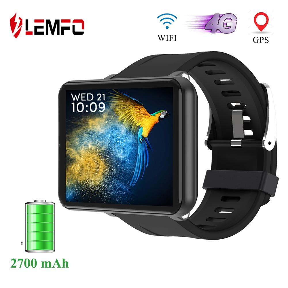 LEMFO LEM T Smart Watch Android 7.1 3GB + 32GB Support 2.86 Inch SIM Card 4G GPS WiFi 2700mAh Large Battery for Smartwatch Men|Smart Watches|   - AliExpress