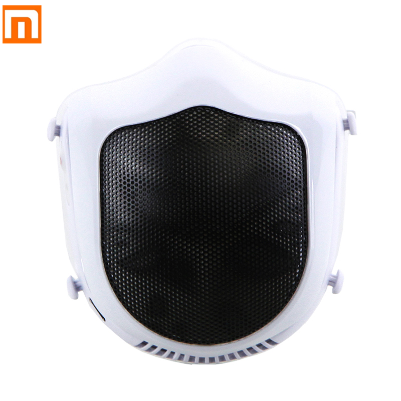 From Xiaomi Mijia Youpin Q5S Electric Anti-haze Sterilizing Mask Provides Active Air Supply Electric Mask For Autumn Winter Fog