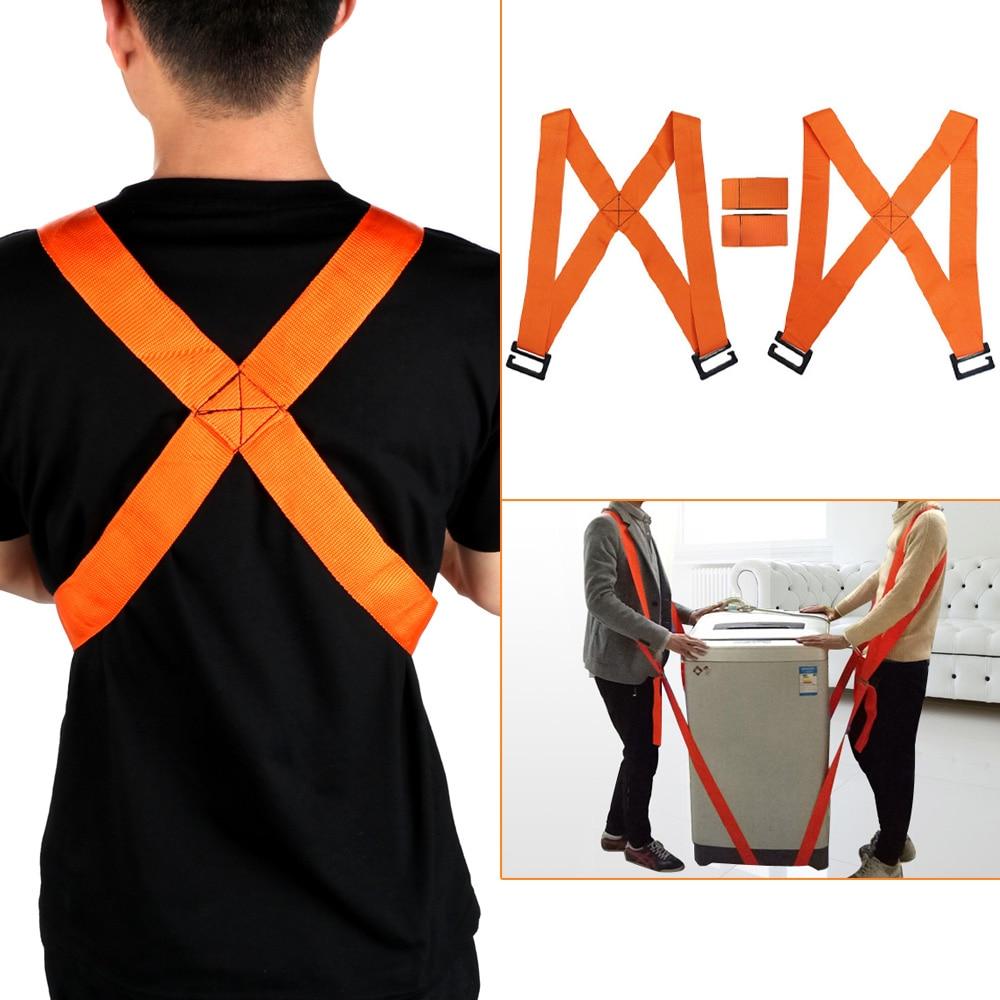 4pcs/set Easier Mover Shoulder Straps Moving Strap Carrying Rope For Home Move House Cleaning Furniture Transport Belt