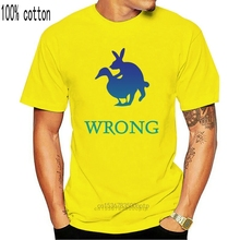 Wrong Duck And Rabbit Styled Slogan men's (woman's available) grey t shirt top
