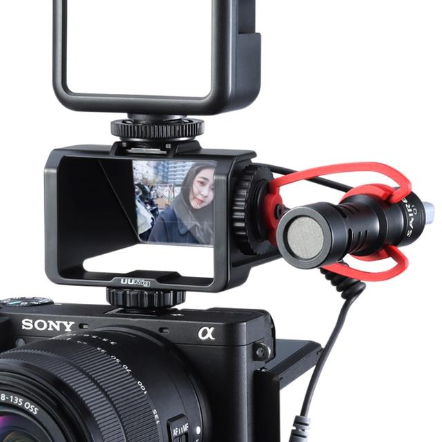 Uurig Camera Periscope Flip Screen Beugel Voor Sony A6000 A6300 A6500 A7III A7R3 RX100 Nikon Z6 Z7 Canon Panasonic Fuji