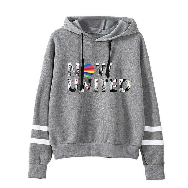 NOW UNITED THEMED STRIPED HOODIE (5 VARIAN)