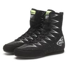 Breathable Wrestling Shoes Kids Light Weight Flighting Shoes Child Comfortable Boxing Sneakers White Black Boys Boxing Shoes