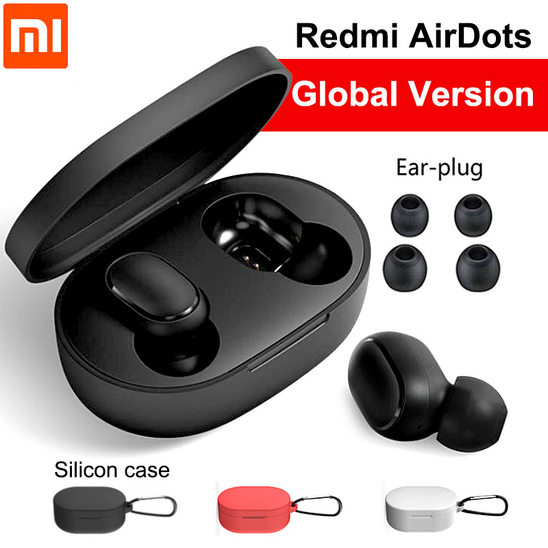 Bluetooth 5.0 Earphones Redmi Airdots In-ear With Microphone Wire Headset For Iphone Samsung Headphones FOR XIAOMI