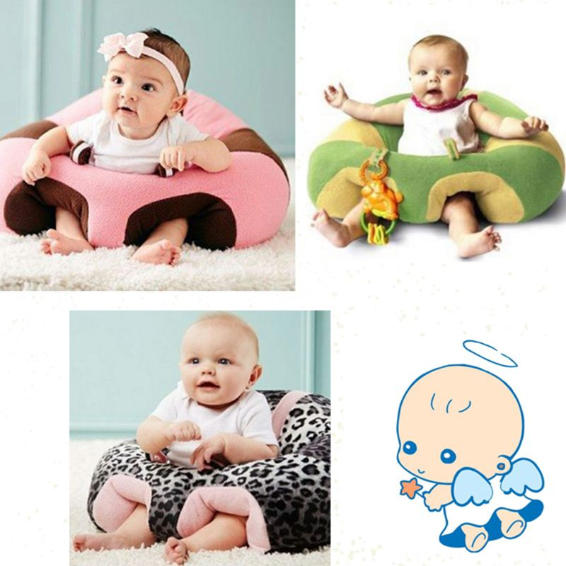 Baby Seat Sit Support Protector Soft Sofa Cushion Chair Car Safety Plush Pillow Plush Infant Toy Gift 72XC
