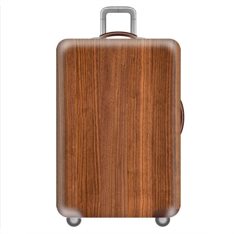HMUNII карта мира, дизайнерский защитный чехол для багажа, Дорожный Чехол для чемодана, эластичные пылезащитные Чехлы для 18-32 дюймов, аксессуары для путешествий - Цвет: K-Luggage cover