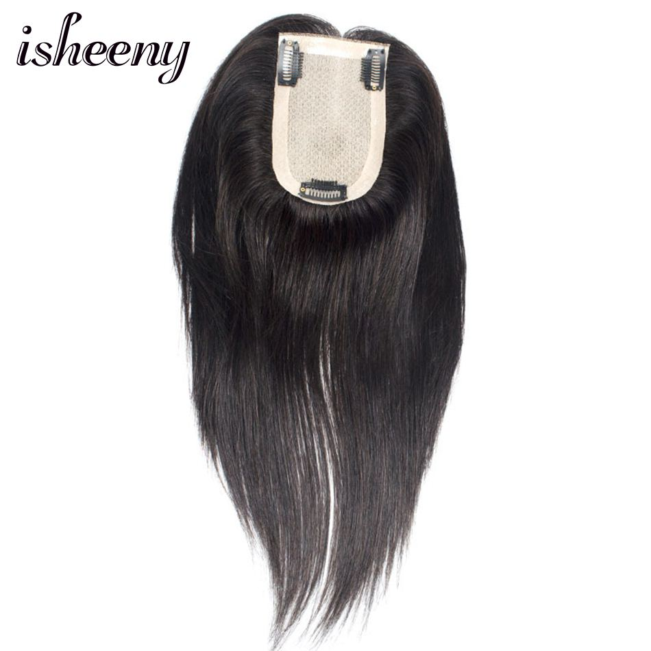Human Hair Topper Wig For Women 6