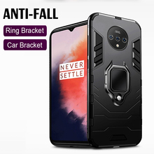 Stand Holder Car Ring Phone Cover For Oneplus 7T 7 Pro Case Shockproof Armor Case for One Plus 7T Pro 7 Pro Case Cover yuyaobaby white 7t