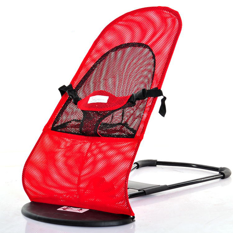 Baby Rocking Chair Netting Cloth Baby Lulls To Sleep In Recliner Baby Soothing Rocking Chair  1